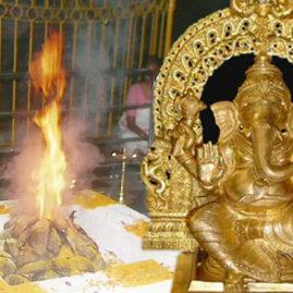 Ashta Dravya Ganapathy Homam
